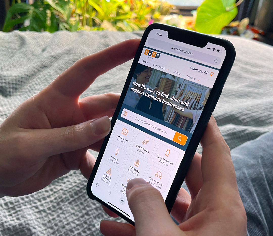 Launched March 1, 2021, SokoLocal was created to help businesses connect with local shoppers